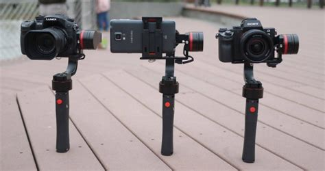 Nebula 4000 Competitor PilotFly H1 3-Axis Gimbal Opens for