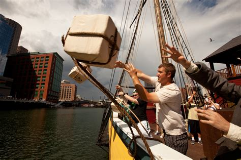 Boston Tea Party Ships & Museum Reopens With New Exhibits