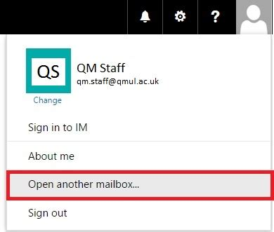 Open and add a shared mailbox in Office 365 - IT Services