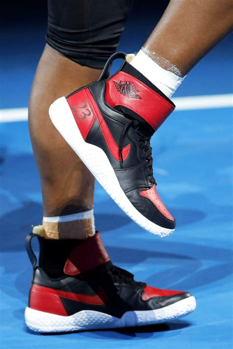 Serena Williams got the perfect pair of Jordans for