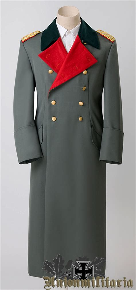 High Quality WW2 German General Overcoat reproduction for sale