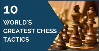 Best Chess Tactics — 10 World's greatest tactical chess games
