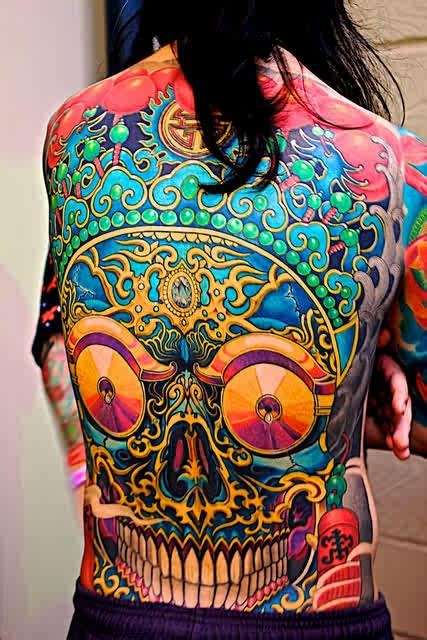 45 Best Hippy Trippy Tattoos Ever Made - Page 5 of 5