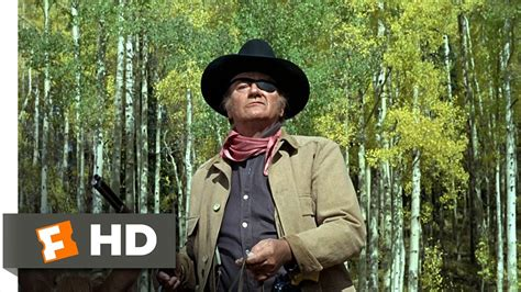 True Grit (9/9) Movie CLIP - Bold Talk for a One-Eyed Fat