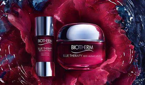 Biotherm Blue Therapy Red Algae Uplift Cure & Cream Review