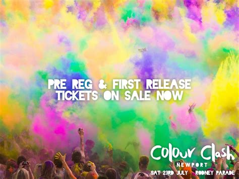 Colour Clash Newport at Rodney Parade - EventsnWales
