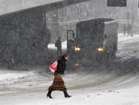 Fierce winter storm pushes into the Northeast - The Blade