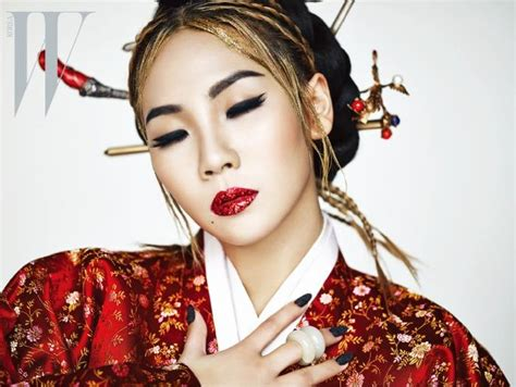 """2NE1's CL is """"The Queen"""" in W Magazine's April issue"""