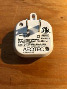 Aeotec by Aeon Labs Z-Wave Extender Signal Repeater DSD37