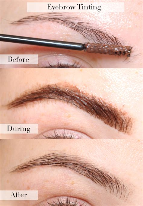 Henna Eyebrow Tinting -How To Color Your Brows With Henna