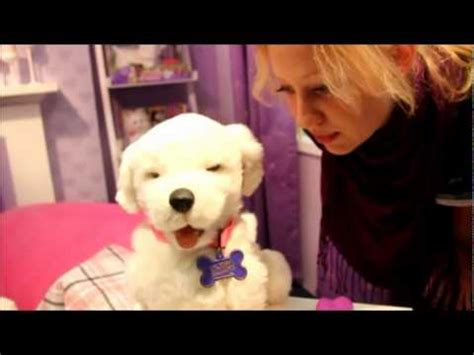 FurReal Friends Dog Cookie New in 2011 by Hasbro - YouTube