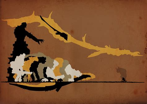 Colossal Shadow of the Colossus fan art is just that