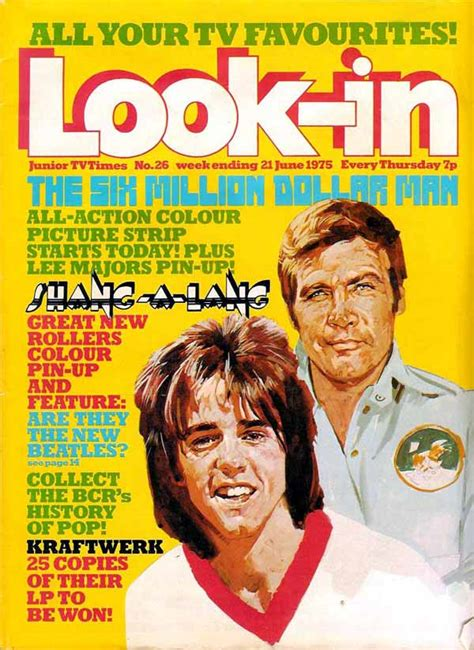 The Six Million Dollar Man (Look-in strips) | The Bionic