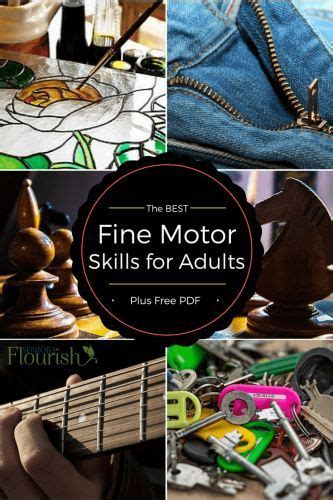 Fine Motor Skills for Adults - The Ultimate List