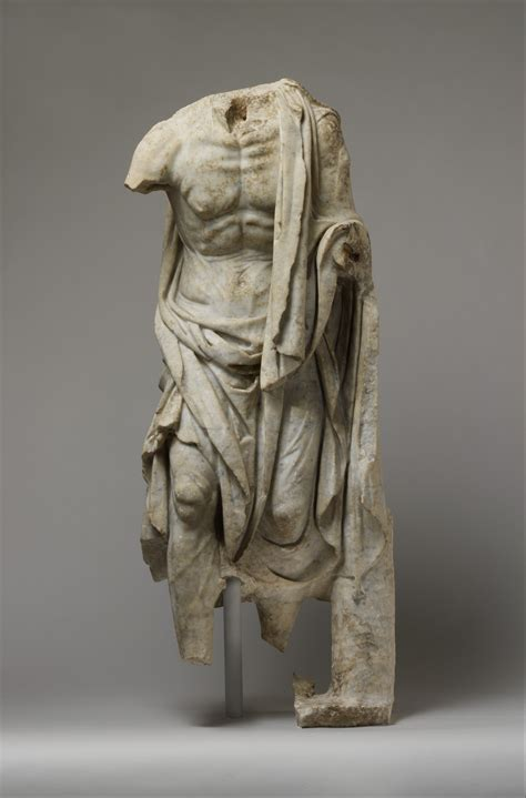 Marble statue of an old fisherman | Roman | Imperial | The Met