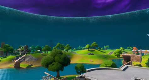 Fortnite's Latest Live Event Ended, Leaving Map Surrounded