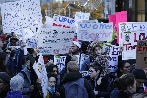 Scenes From Five Days of Anti-Trump Protests Across a