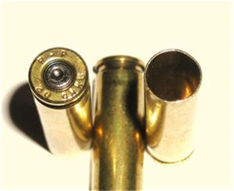 30 Carbine Once fired brass reloading cartridge cases