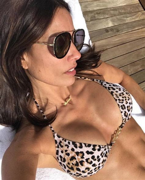Melanie Sykes sizzles in lingerie ahead of The Great