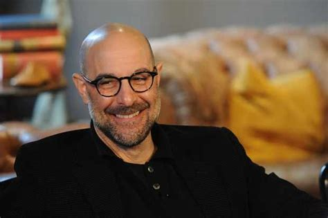 """The Hunger Games star Stanley Tucci: """"British news"""