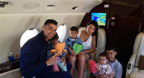 Cristiano Ronaldo's Girlfriend Shares Photo with All Their