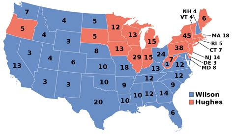 1916 United States presidential election - Wikipedia